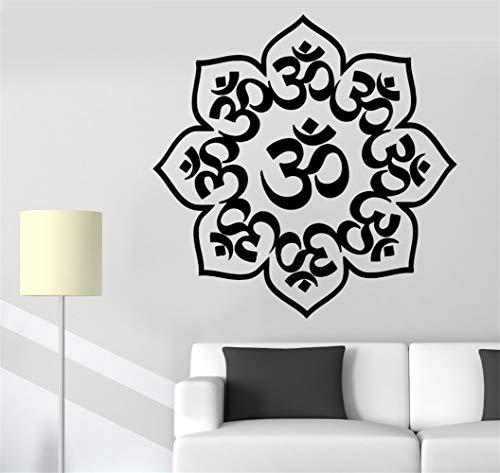 pabear Lettering Words Wall Mural DIY Removable Sticker Decoration Special Home Decor Mandala Buddha Chakra Meditation Homes]()