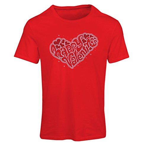 """Camiseta mujer Regalos """"Día de San Valentín - Mi amor"""" Rojo Multicolor"""