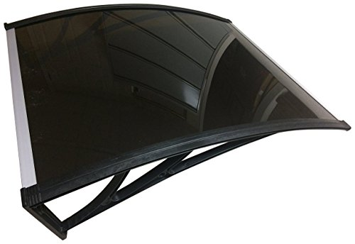Denmir Door-Window Awnings Solid Panel, 9ft x 4ft Brown by Denmir Awnings