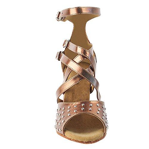 Party Party Sera7011 Comfort High Top Vestido De Noche Pump, Wedding Zapatos: Zapatos De Baile Para Salón De Baile High-medium Heel, Salsa, Tango, Latin, Swing Salsa Tango Swing Latin 7011- Cooper
