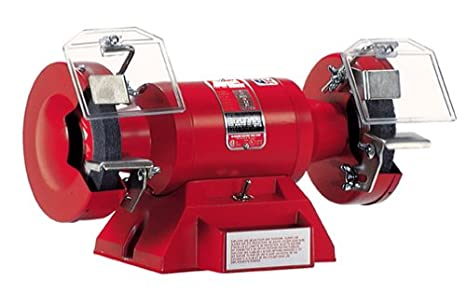 Prime Milwaukee 5091 4 2 Amp Bench Grinder With Lighted Eyeshields Bralicious Painted Fabric Chair Ideas Braliciousco