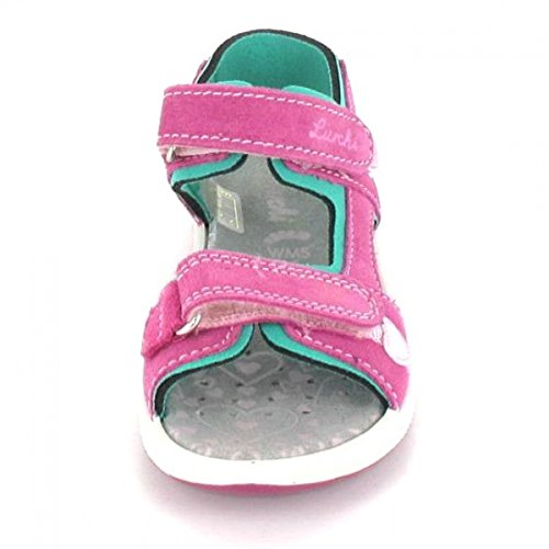 Lurchi Mädchen Fia Offene Sandalen Rot (Pink)