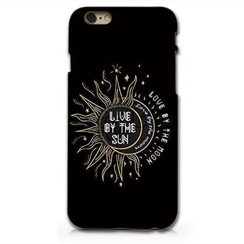reputable site 85735 cc617 Live By The Sun Love By he Moon Sun And Moon iphone 6 6s Plastic Phone Case  Phone Cover Phone Back Case _ SUPERTRAMPshop (VAS620.6bl)