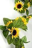 Richland Sunflower Garland Silk 6' Set of 6