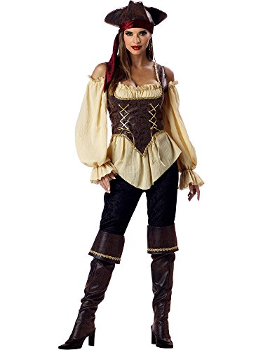 Rustic Pirate Lady Adult Costume - Small -