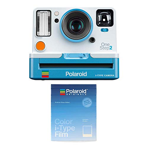 Polaroid Originals OneStep 2 Viewfinder i-Type Instant Camera (Summer Blue) w/ 4927 i-Type Summer Blues Film