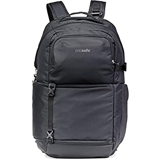 PacSafe Camsafe X25 Anti-Theft Camera Backpack-Black Travel, One Size