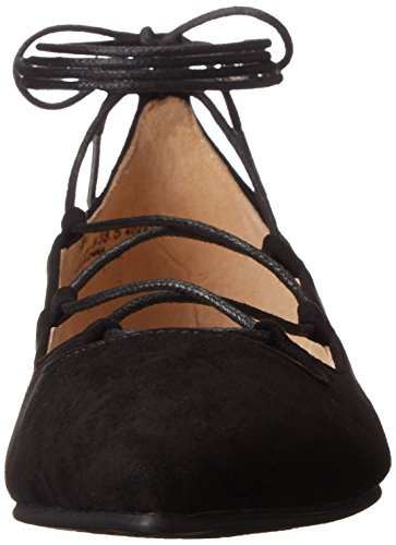 Chinese Laundry Frauen Endless Summer Spitzenschuhe Gleit Sandalen Black Suede