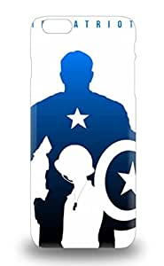 High Impact Dirt Shock Proof 3D PC Case Cover For Iphone 6 Plus Hollywood Captain America The First Avenger Captain America Sci Fi Adventure Action ( Custom Picture iPhone 6, iPhone 6 PLUS, iPhone 5, iPhone 5S, iPhone 5C, iPhone 4, iPhone 4S,Galaxy S6,Galaxy S5,Galaxy S4,Galaxy S3,Note 3,iPad Mini-Mini 2,iPad Air )