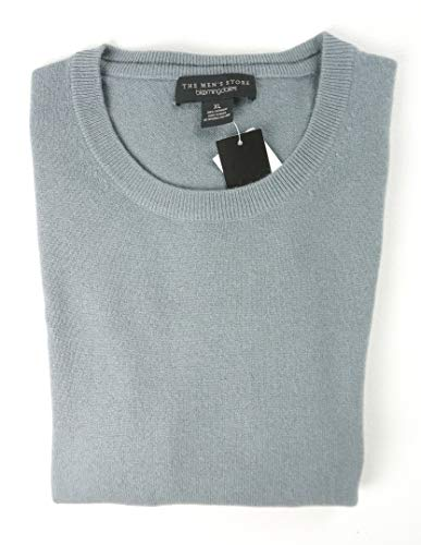 - Bloomingdale's New $198 Slate Gray 2 PLY 100% Cashmere Crewneck Sweater Size 2XL