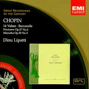 Chopin: 14 Waltzes; Barcarolle; Nocturne No. 2; Mazurka No. 3 by EMI Classics