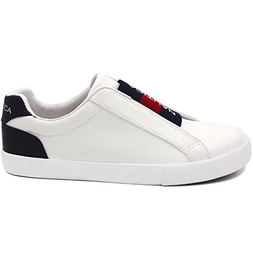 Up Slip Lace Sneaker Casual on Fashion Women Steam Shoes Nautica xfOqwFgCq