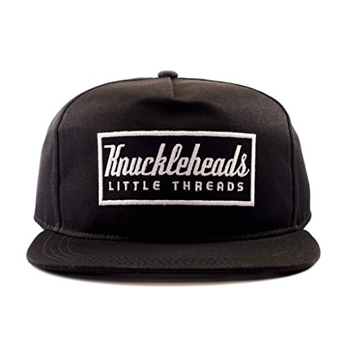 Knuckleheads Clothing Baby Boy Infant Trucker Sun Hat Toddler Mesh Baseball Cap Black Knuckleheads L 56 cm 6 Years and up