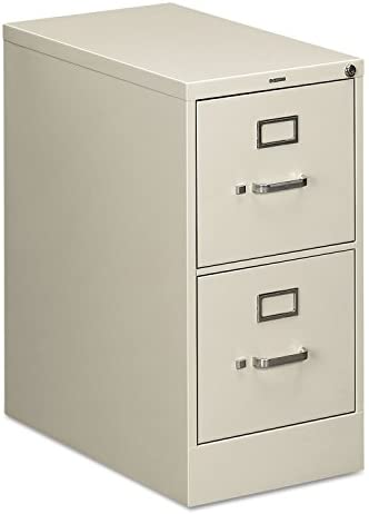 Hon 512PQ Two-Drawer Full-Suspension File, Letter Size, 15w x 29h x 25d, Gray