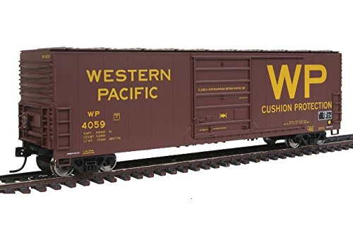 50' Evans Smooth Side Boxcar - Ready to Run -- Western Pacific(TM) #4059