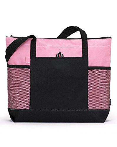 Pink Zippered - 1