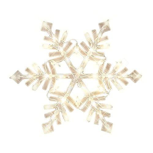 impact innovations christmas lighted window decoration snowflake - Christmas Window Decorations Amazon