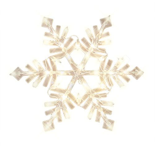 Lighted Snowflake Decorations Outdoor in US - 6