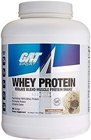 German American Technology Mezcla de Proteínas y Aminoácidos Whey Protein, Cookies and Cream, 5 lb