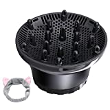 Hair Diffuser Universal Hair Diffuser Attachment Hair Dryer Diffuserfor Fine Thick Curly Wave and Frizzy Hair Professional Salon Tool Suitable for 1.4-inch to 2.6-inch Blow Dryer
