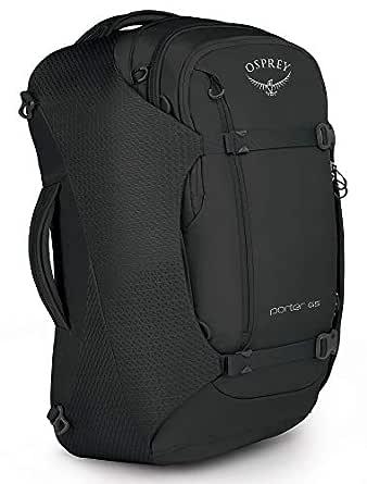 Osprey Packs Osprey Packs Porter 65 Travel Backpack, Black, One Size, Black, One Size