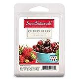 ScentSationals Wax Cubes, Cherry Berry, 2.5 oz