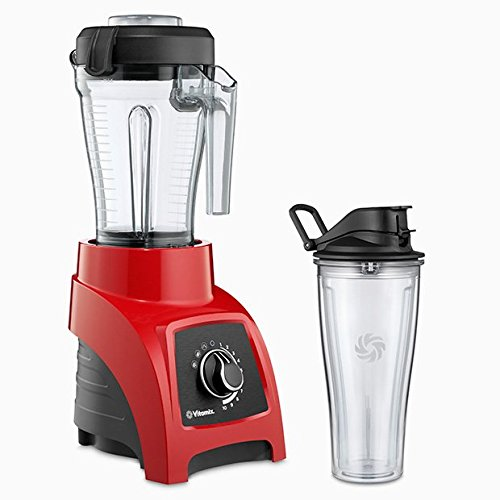Vitamix S50 S-Series Blender, Professional-Grade, 40oz. Container, Red
