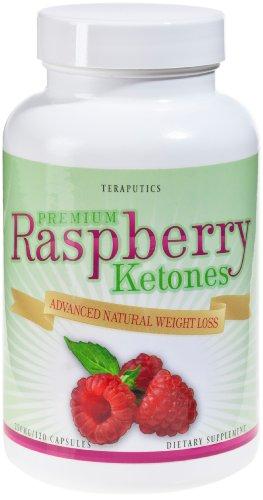 Teraputics Framboise cétones 250mg, Premium Quality Pure Blend, Ultra perte de poids pilule, 120 capsules, 250 mg Chaque comprimé!