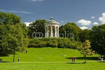 Leinwand Bild 110 X 70 Cm München Monopterus Im Englischer Garten