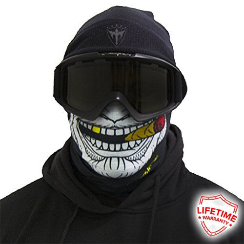 Thermal Fleece Face Mask Shield Protective Balaclava Alpha Defense Salt Armour (Gangster) - Gangster Mask