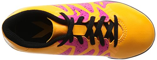 adidas - Chaussures de football - Chaussure X 15.4 Turf - Gold - 35 1/2