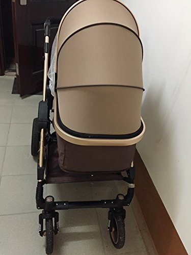 0--36 months baby stroller 2 in 1 stroller lie or damping folding light weight Two-way use four seasons (1) by wisesonle (Image #4)