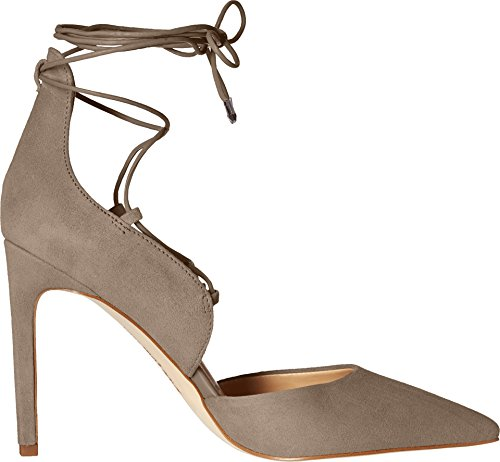 Sam Edelman Helaine, Tacón de Vestir para Mujer Putty Kid Suede Leather