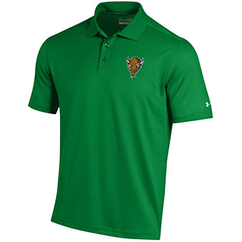 (NCAA Marshall Thundering Herd Men's Loose Fit Performance Polo, Large, Kelly)