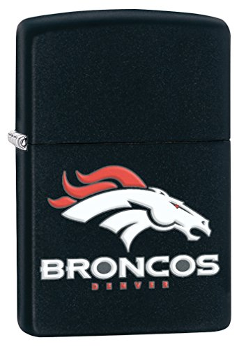 Nfl Lighter Denver Zippo Broncos (Zippo Lighter - NFL Denver Broncos Black Matte)