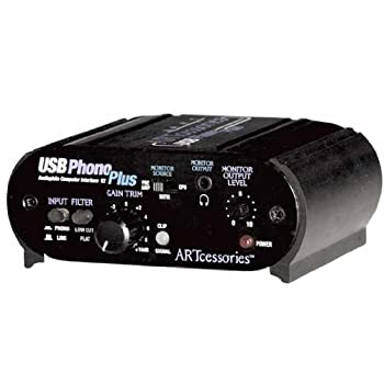 ART USB Phono Plus Phono Preamp