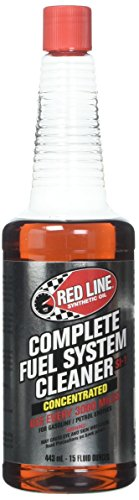Max Power Fuel Line (Red Line (60103) Complete SI-1 Fuel System Cleaner - 15 Ounce)