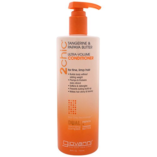 2chic Ultra Volume Tangerine and Papaya Butter Conditioner,