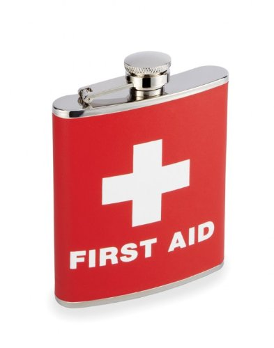 First Aid 7 oz Flask FLASK47