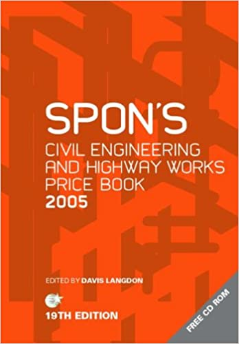 spon's civil engineering and highway works price book free download