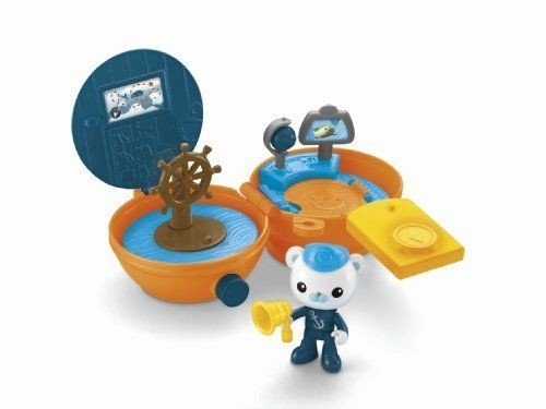 Price comparison product image Nceonshop(TM) Fisher-Price Octonauts Barnacles' On-The-Go Pod New