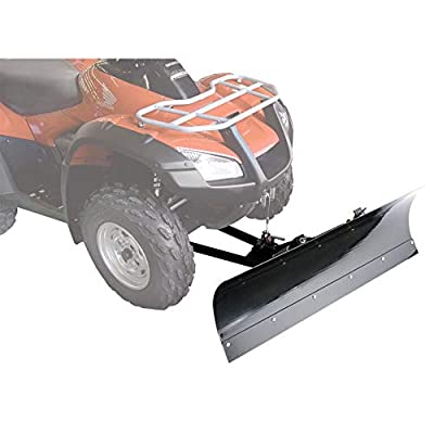 "Tusk SubZero Snow Plow Kit, Winch Equipped ATV, 50"" Blade - Fits: Polaris SPORTSMAN ACE 570 2015-2018"