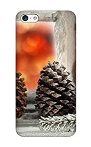 meilinF000Christmas Day's Gift- New Arrival Cover Case With Nice Design For ipod touch 5- Christmas NightmeilinF000