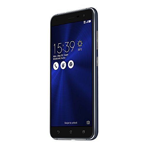 Asus ZenFone 3 ZE520KL 32GB Sapphire Black, 5.2-inch, Dual Sim, 3GB Ram, Unlocked International Model