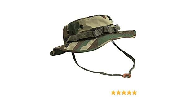 Amazon.com   Teesar US GI Trilaminate Boonie Hat Woodland   Sports    Outdoors 422d66ed5172