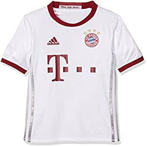 adidas FCB UCL JSY Y Camiseta, Niños, (Blanco/Onisua/Buruni), 11-12 años