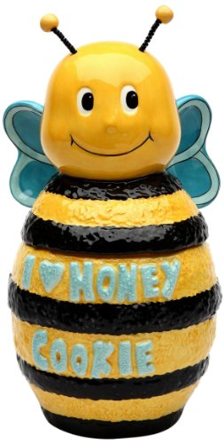Appletree Design Bee Cookie Jar, 10-Inch ()