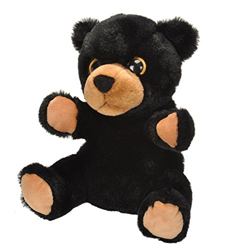 Bear Plush Hand Puppet - Wild Republic Hand Puppet, Plush, Stuffed Animal, Gifts For Kids, Black Bear 9 Inches