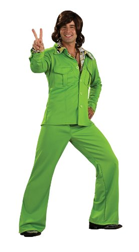 70s Leisure Suits (R889183 (Standard, Lime) Leisure Suit)