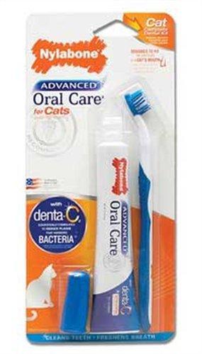 Nylabone Advanced Oral Care Cat Dental Kit, My Pet Supplies